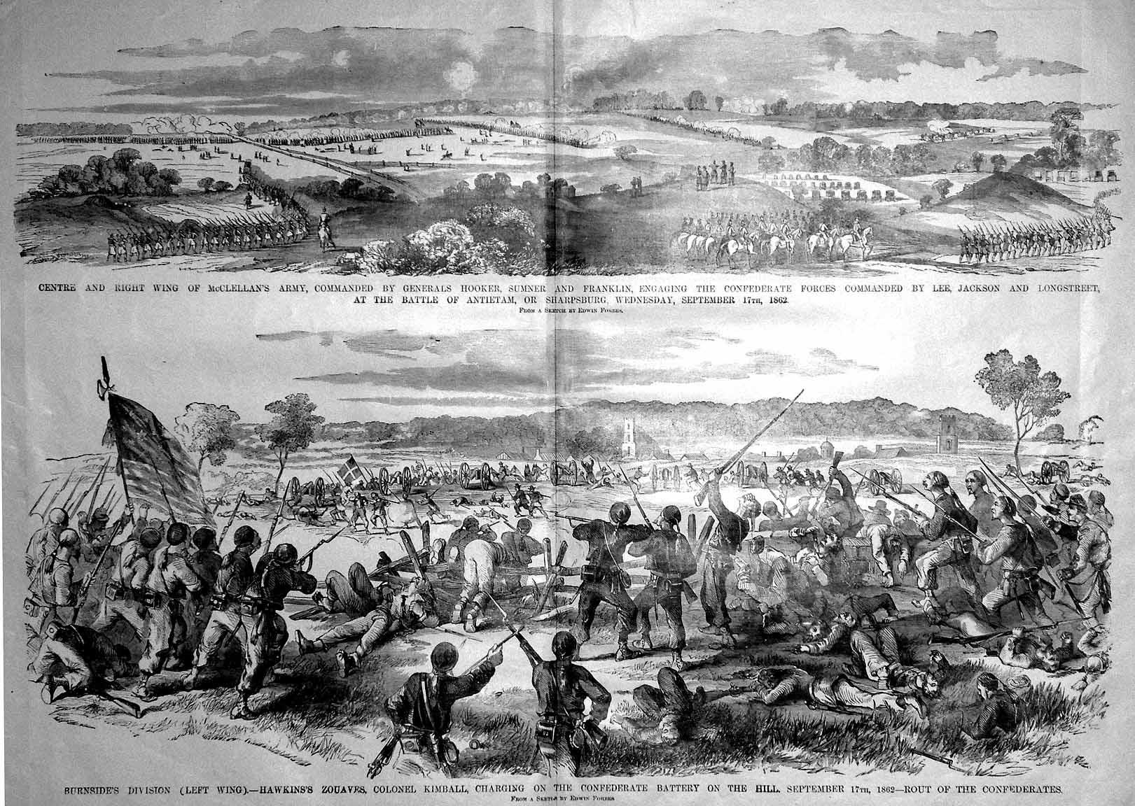 Antietam Battle Casualties Civil War Battle Antietam