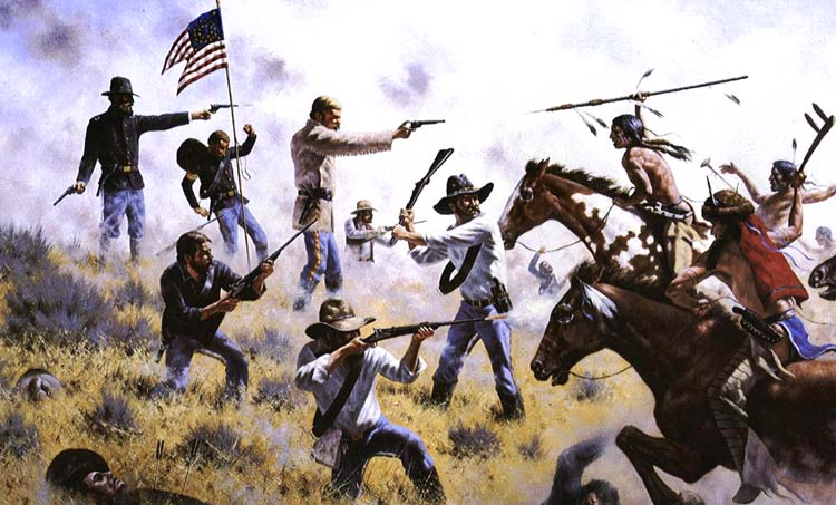 a history of the battle of the little big horn Tom custer (above) never found out how the hawkins family fared in the 1873  novel he was reading before the battle of the little big horn took.