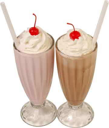 Peaches And Cream Malted Milkshake Recipes — Dishmaps